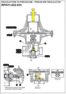 Ремкомплект для регулятора RP-APOS
