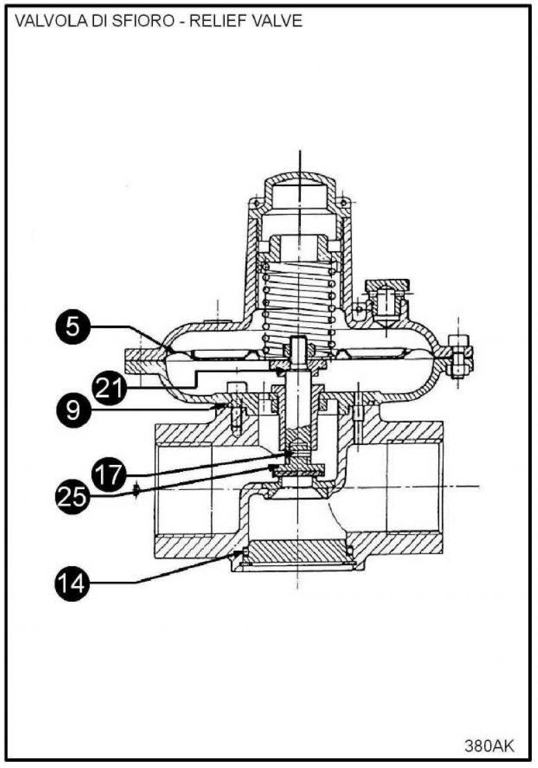 Ремкомплект для ПСК VS 800