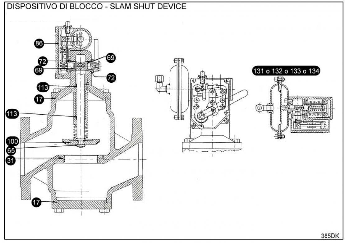 Ремкомплект для ПЗК VDB 8500